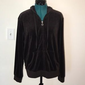 NWOT New York & Company Brown Velour Jacket